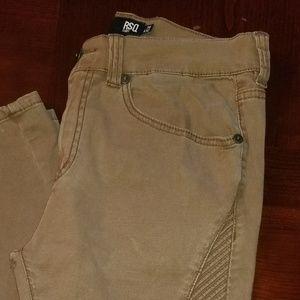 London Skinny RSQ Mens Moto Jeans